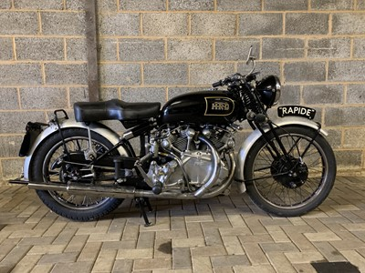 Lot 63 - 1946 HRD Rapide 998cc Series B