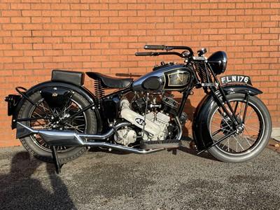 Lot 70 - 1938 AJS Model A2 1000cc