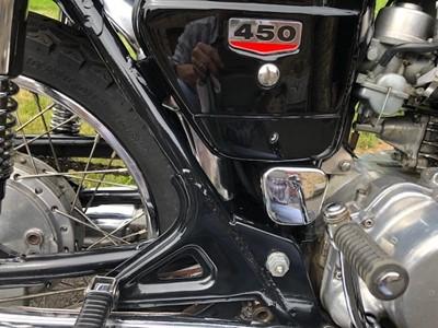 Lot 211-1969 Honda CB450 K1
