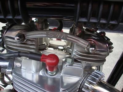 Lot -1955 Triton 650cc
