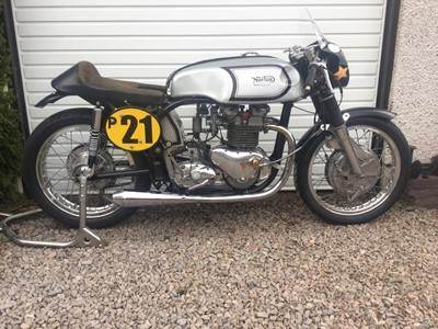 Lot 51 - 1961 Triton Manx GP 500cc