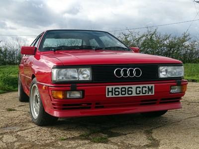 Lot 84 - 1990 Audi UR Quattro 2.2 Turbo RR 20V