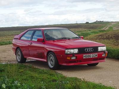 Lot 84-1990 Audi UR Quattro 2.2 Turbo RR 20V