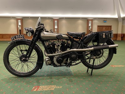Lot 125 - 1925 Brough Superior SS100