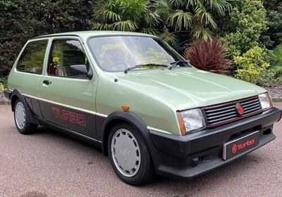 Lot 320-1985 MG Metro Turbo