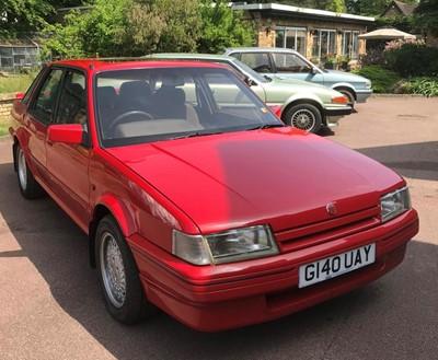 Lot 324-1989 MG Montego EFi