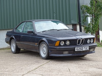 Lot 331-1989 BMW 635 CSI