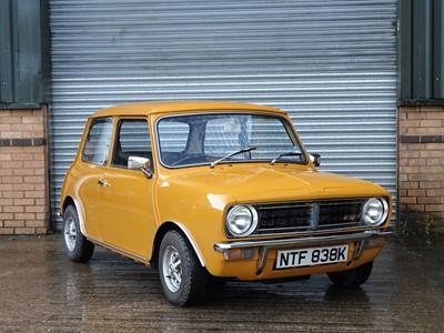 Lot 310-1972 Mini 1275 GT
