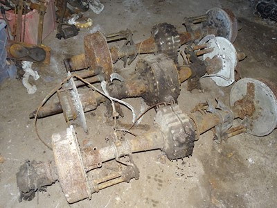 Lot 104-Three Pre-War Rolls-Royce Rear Axles