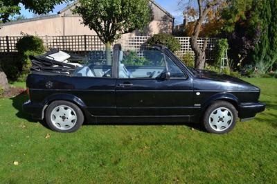 Lot 302-1990 Volkswagen Golf GTi Cabriolet