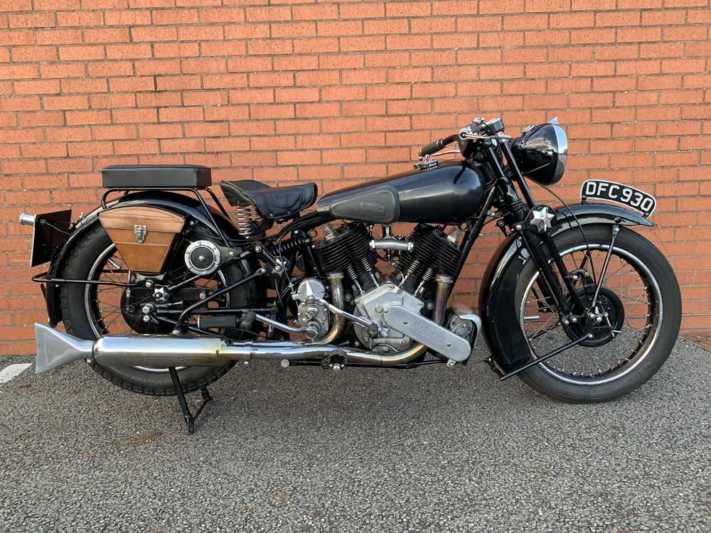 Lot 55 - 1936 Brough Superior SS80