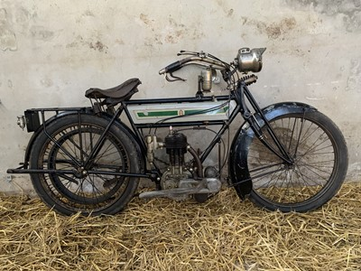 Lot 118-c1911 Triumph 3 1/2 hp TT Roadster