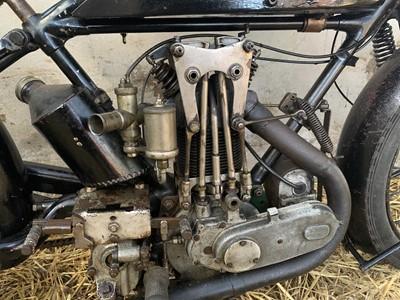 """Lot -c1925 AJS E6 Big Port 350cc """"Special"""""""