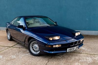 Lot 349-1991 BMW 850i