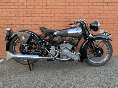 Lot 72 - 1936 Brough Superior SS80
