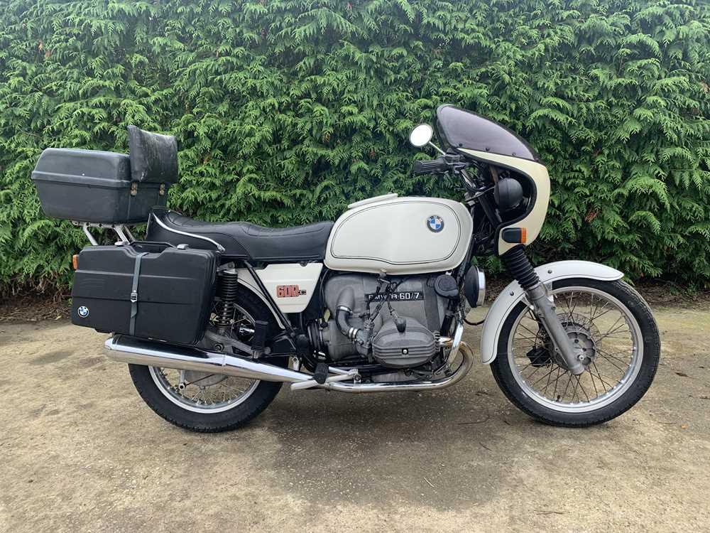 Lot 77 - 1977 BMW R60/7