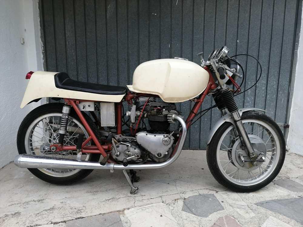 "Lot 78-c1954 Triumph Thunderbird ""Cafe Racer"""
