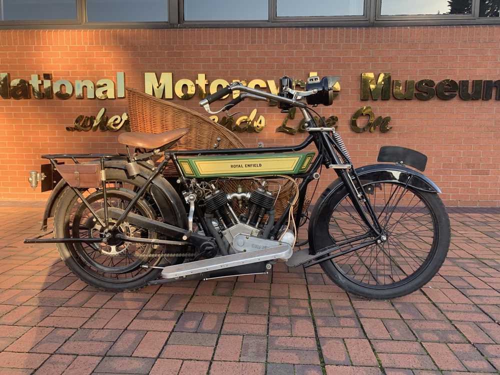 Lot 80 - c1914 Royal Enfield 6hp Model 180 Combination