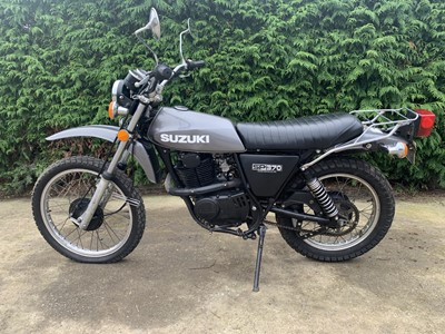Lot 84 - 1978 Suzuki SP370