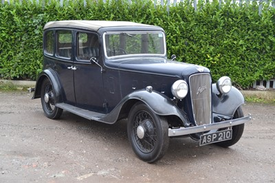Lot 344 - 1935 Austin Light 12/4 Ascot with Tickford Hood