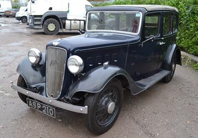 Lot 344 - 1935 Austin Light 12/4 Ascot with Tickford Hood
