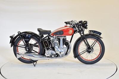 Lot 138 - 1937 BSA B22 Empire Star
