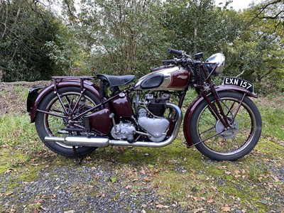 Lot 82 - 1938 Triumph Speed Twin
