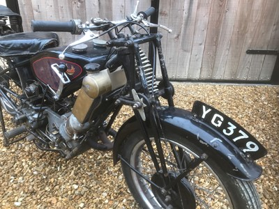 Lot 71 - 1932 Scott Squirrel Tourer