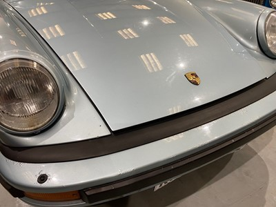 Lot 330 - 1987 Porsche 911 Carrera 3.2 Targa Sport