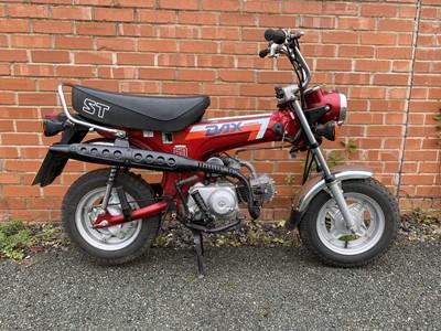 Lot 105 - 1989 Honda ST50-J Dax