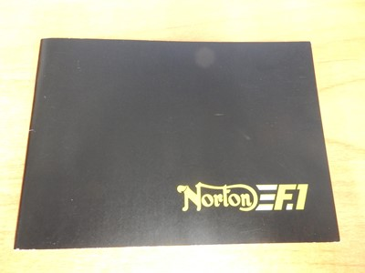 Lot 46-1990 Norton F1