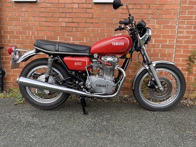 Lot 111 - 1977 Yamaha XS 650