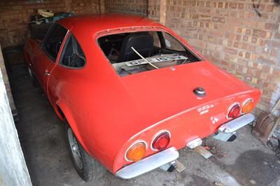 Lot -1970 Opel GT 1900