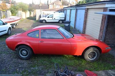 Lot 335 - 1970 Opel GT 1900