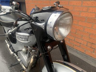 Lot 21-1959 Triumph Tiger Cub 200cc
