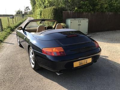 Lot 349 - 1998 Porsche 911 Carrera Tiptronic S Cabriolet