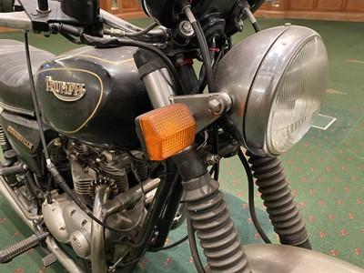 """Lot 161-1988 Triumph """"Harris"""" T140 Bonneville"""