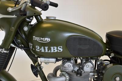 Lot 150 - 1967 Triumph T35 WD