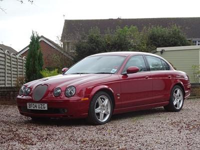 Lot 315-2004 Jaguar S-Type R