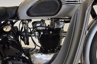 Lot 155-1950 Triumph T100 Tiger 500cc