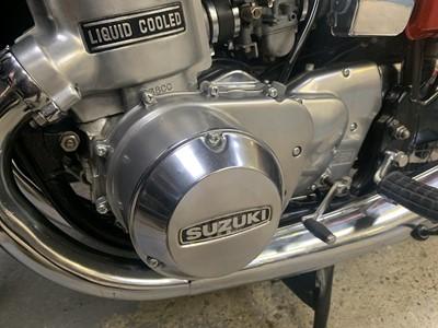 Lot 27-1975 Suzuki GT750M