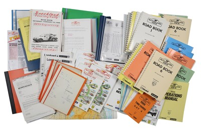 Lot 101 - Autoglass Tour Rallying Paperwork