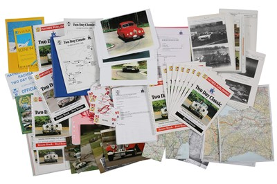 Lot 102 - Haynes Two-Day Classic Rally Paperwork