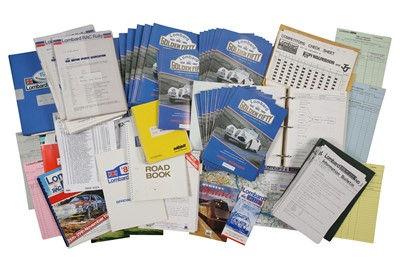 Lot 103 - Lombard/RAC Rally Paperwork