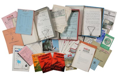 Lot 109 - Quantity of African Rallying Paperwork