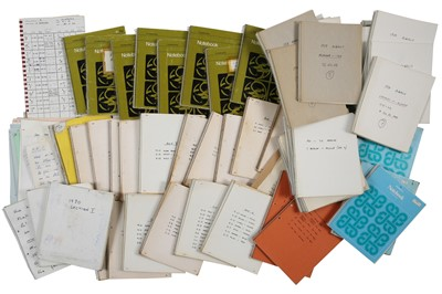 Lot 117 - Large Quantity of Rallying Pace Notes