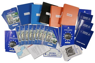 Lot 119 - Quantity of RAC Euro Classic Paperwork