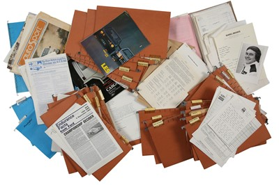Lot 120 - Files From The Office of Jim Porter