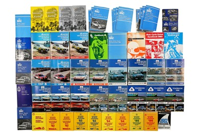 Lot 122 - Quantity of FIA and RAC Motorsport Yearbooks