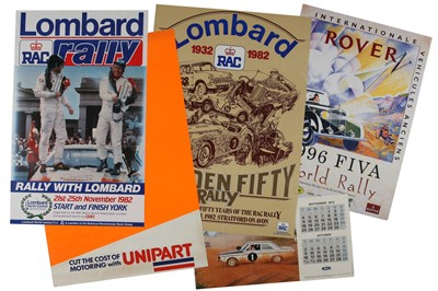 Lot 134 - Large Quantity of Rallying Posters